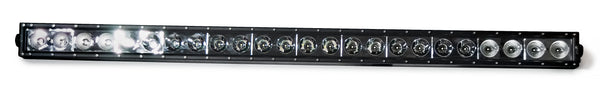 Single Row LED Lightbar 240W B6 Series - Combo beam