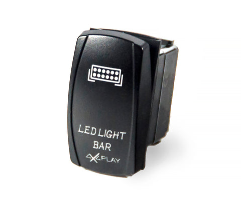 LED Light Bar Rocker Switch