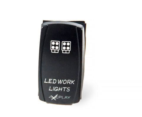 LED Work Lights Rocker Switch