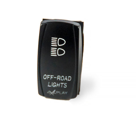 Off-Road Lights Rocker Switch