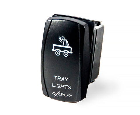 Tray Lights Rocker Switch
