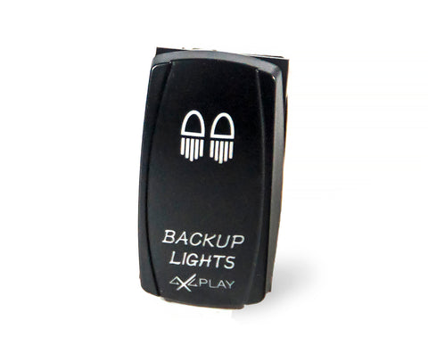 Backup Lights Rocker Switch