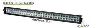 Dual Row Spot Beam LED Lightbar 180W B3O