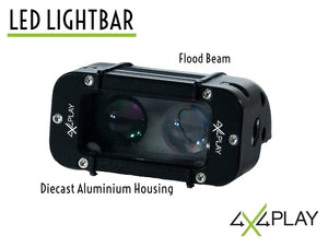 Single Row Flood Beam LED Lightbar B4D 20W