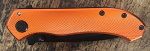NTK 420SS Orange Handle Knife
