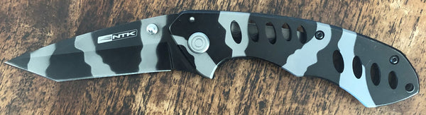 NTK Black Camo Knife