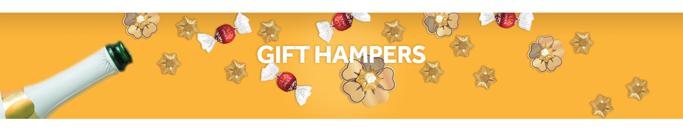 Gift Hampers for Him Banner