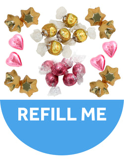 24 Chocolates - Blush Medium Bouquet Refill