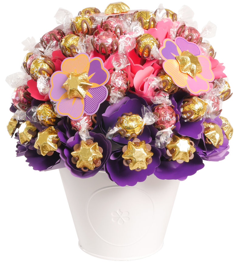 Blush Chocolate Bouquet Luxury