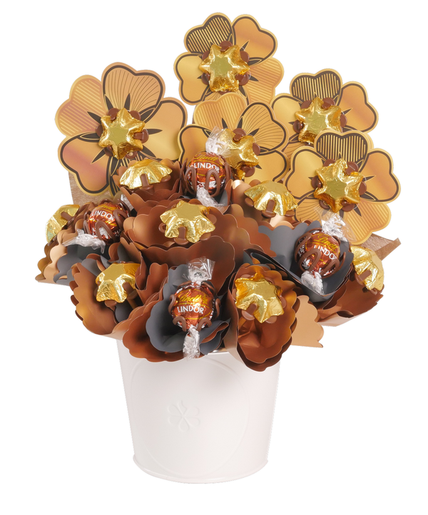 Golden Chocolate Bouquet Small