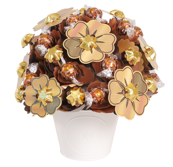 Golden Chocolate Bouquet Medium