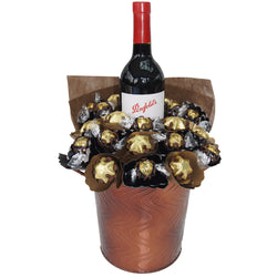 Red wine Chocolate Bouquet