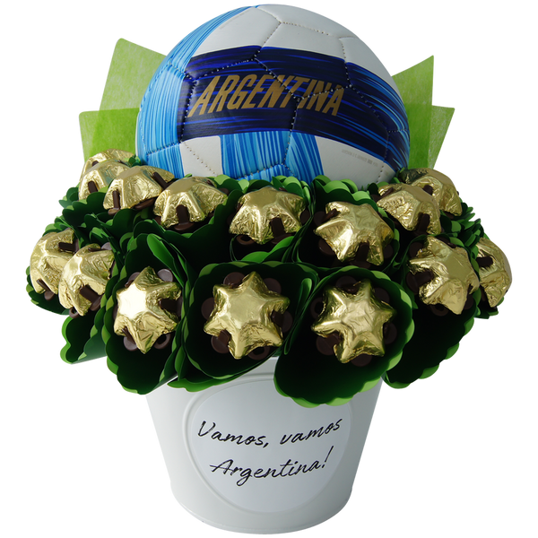 World Cup bouquet Argentina