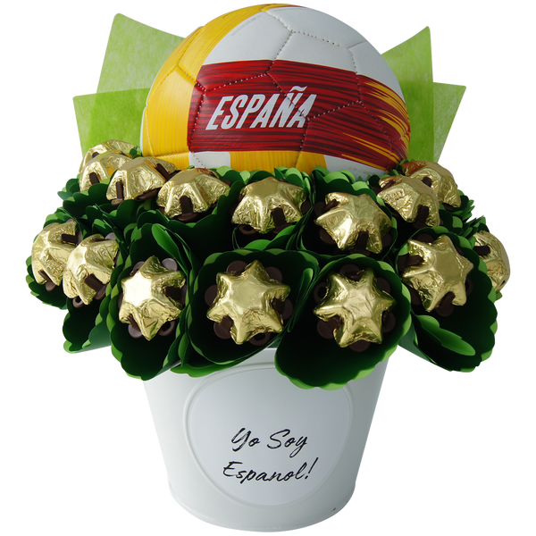 World Cup bouquet Spain