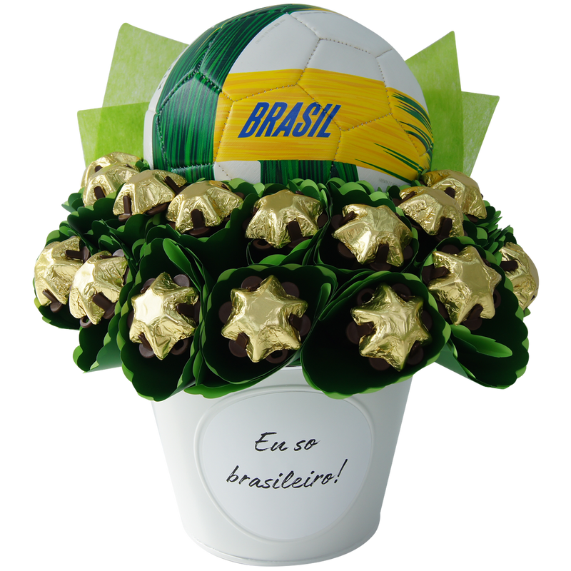 World Cup bouquet Brazil