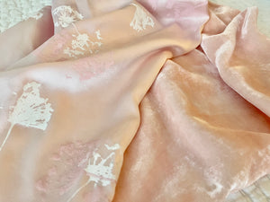 Soft Blush Velvet with Cream and Blush Blooms