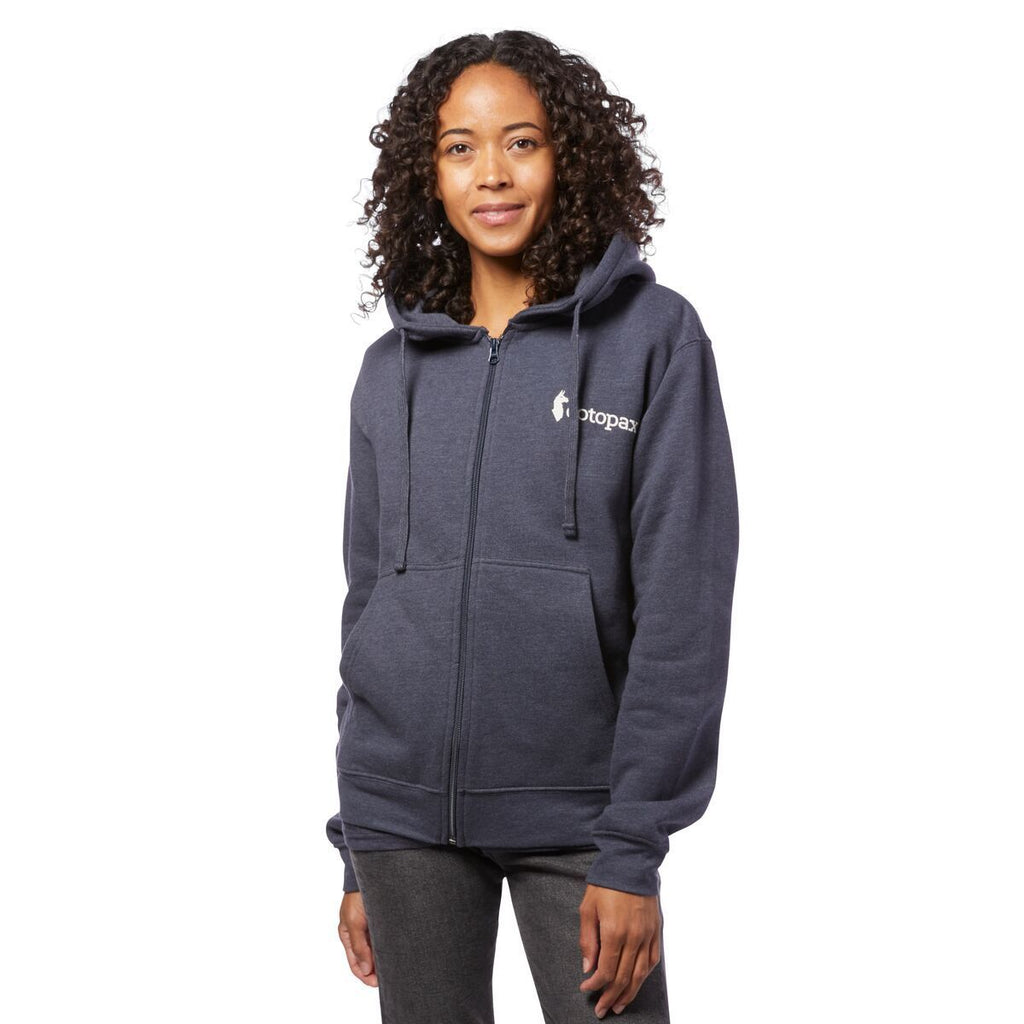 Logo Full-Zip Hoodie - Women's, On Model 1