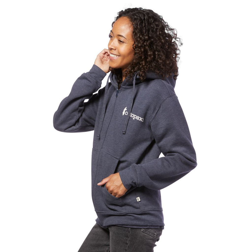 Logo Full-Zip Hoodie - Women's, On Model 2
