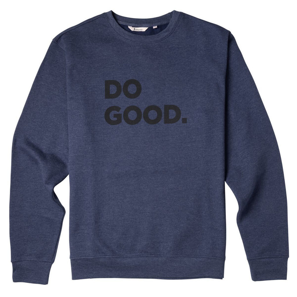 Do Good Crew Sweatshirt - Men's, Admiral, Front