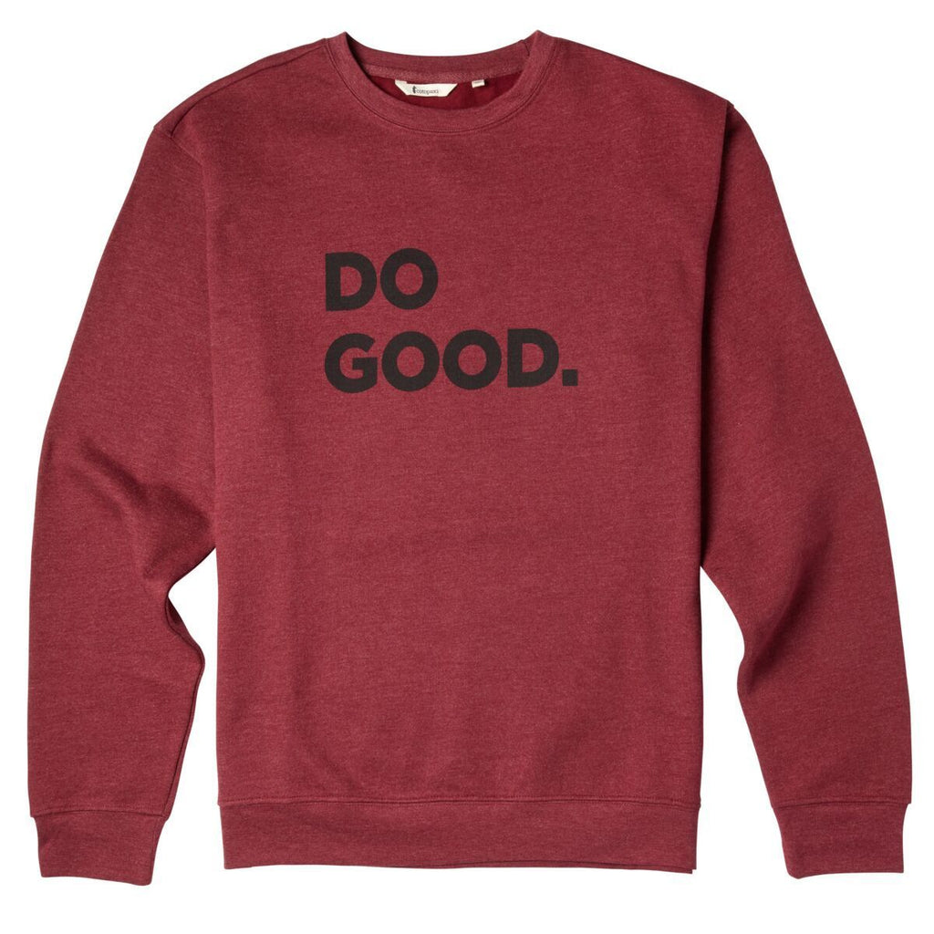 Do Good Crew Sweatshirt - Men's, Port, Front