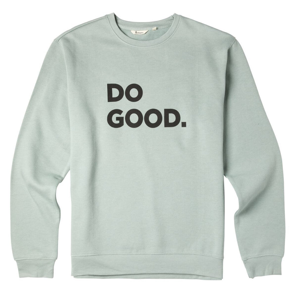 Do Good Crew Sweatshirt - Men's, Sage, Front
