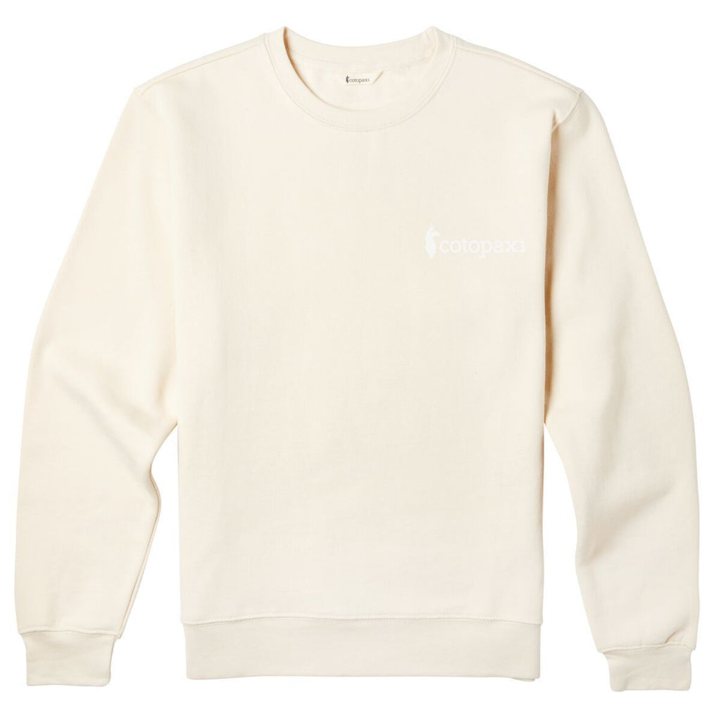 Logo Crew Sweatshirt - Women's, Cream, Front