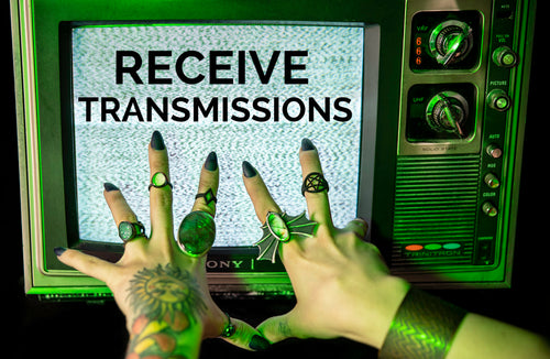 Receive Transmissions Hypnovamp Newsletter - Vintage Television with Static