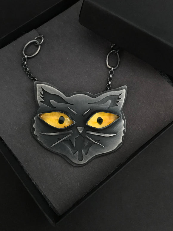 Custom Cat Pendant - RESERVED FOR ALYSSA