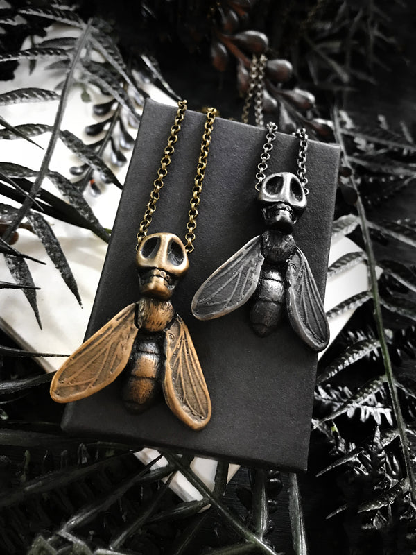 Human Fly Necklace