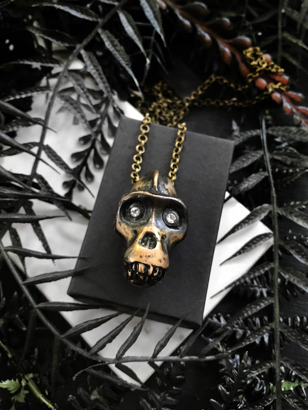 Lucy Skull Necklace