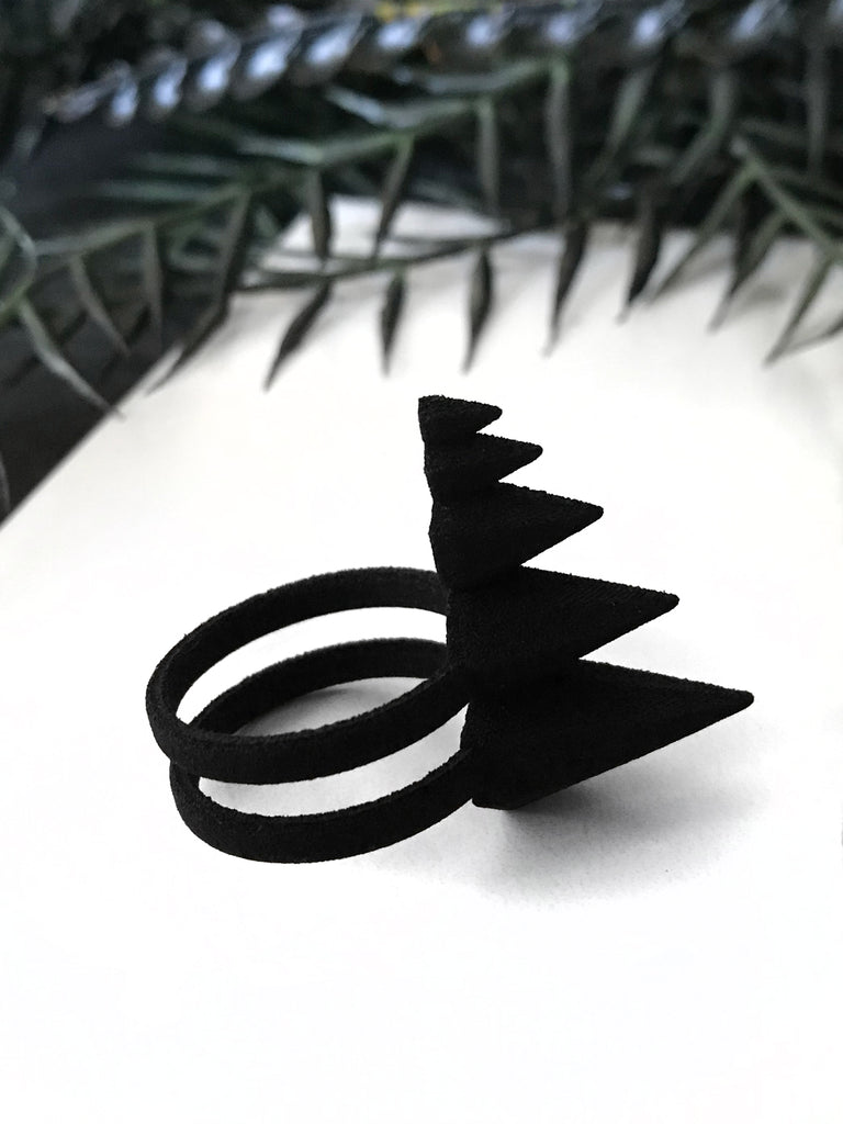 Thagomizer Ring in Matte Black