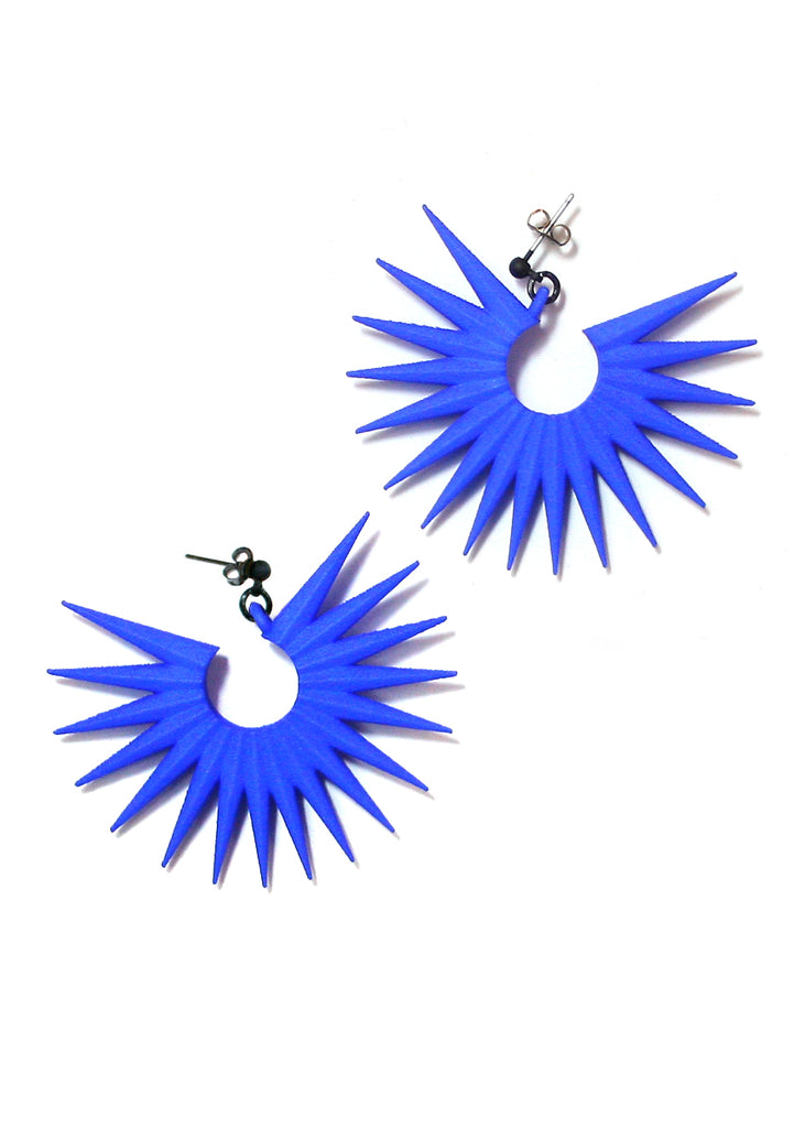 Transpire Earrings in Blue