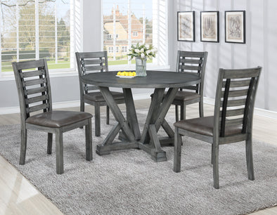Stelar - 5 PC Round Dining Table Set