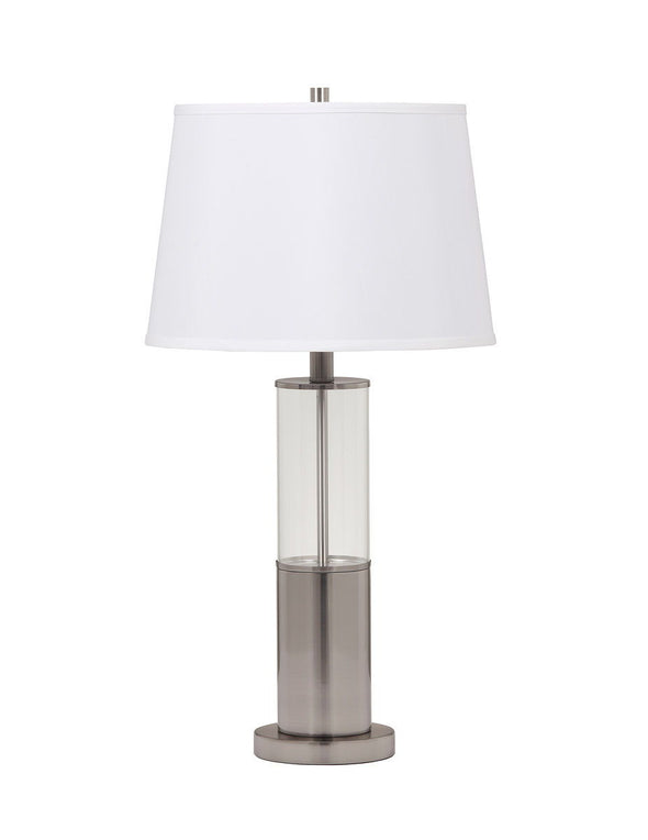 Norma - Silver Finish - Metal Table Lamp (2/CN)
