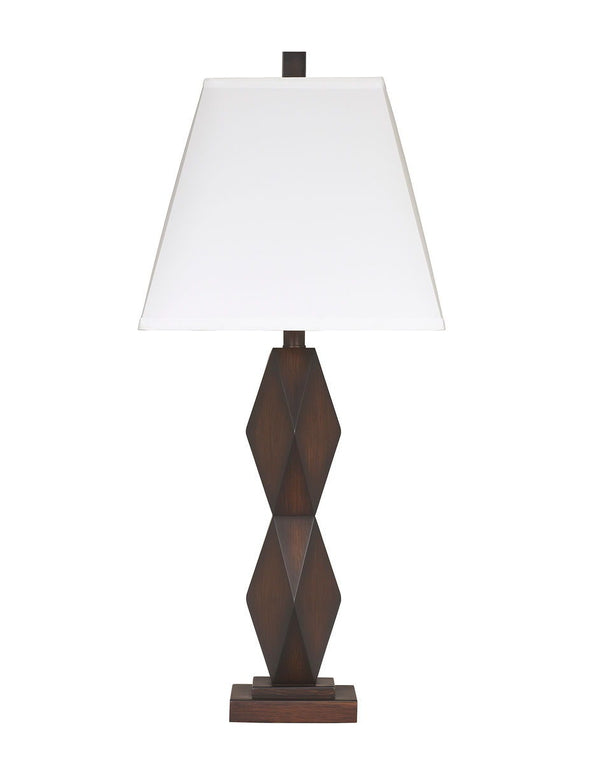 Natane - Dark Brown - Poly Table Lamp (2/CN)