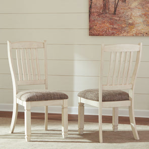 Bolanburg - Two-tone - Dining UPH Side Chair