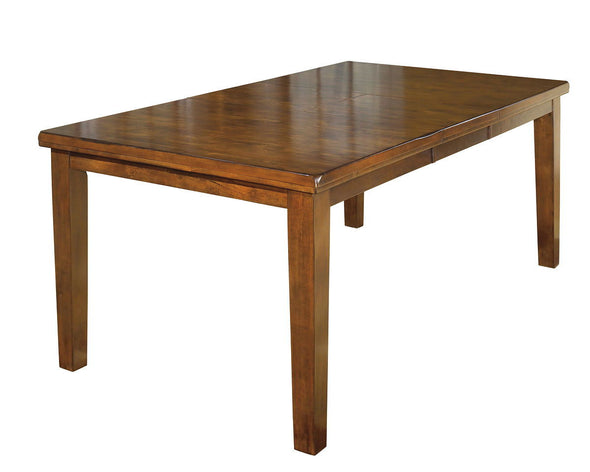Ralene - Medium Brown - RECT DRM Butterfly EXT Table