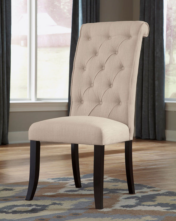 Tripton - Linen - Dining UPH Side Chair