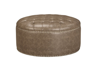 Wilcot - Brown - Oversized Accent Ottoman