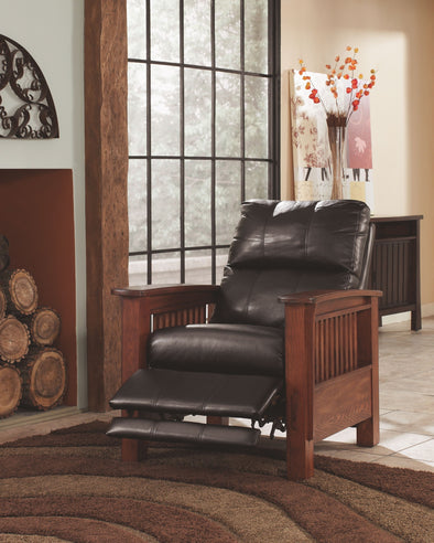 Santa Fe - Chocolate - High Leg Recliner
