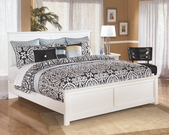 Bostwick Shoals - White - King Panel Footboard