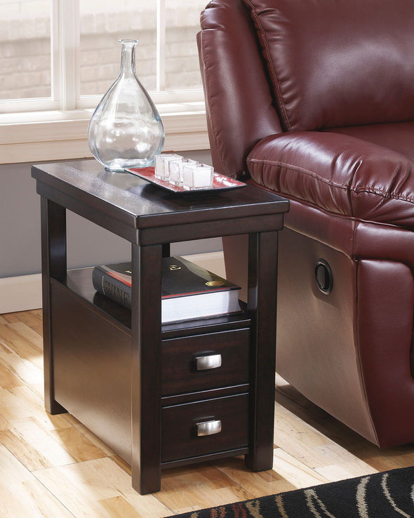 Hatsuko - Dark Brown - Chair Side End Table