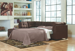 Maier - Walnut - RAF Full Sofa Sleeper
