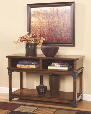Murphy - Medium Brown - Console Sofa Table