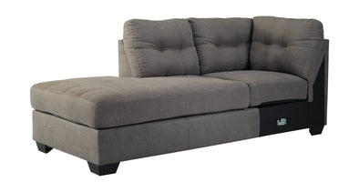 Maier - Charcoal - LAF Corner Chaise