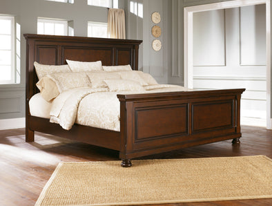 Porter - Rustic Brown - Queen Panel Headboard