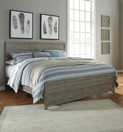 Culverbach - Gray -  Panel Bed