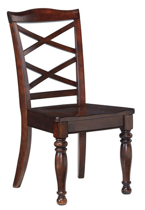 Porter - Rustic Brown - Dining Room Side Chair