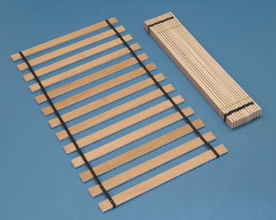 Frames And Rails - Brown - Twin Roll Slat