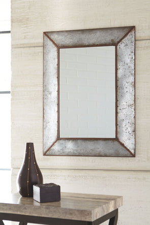 O'Tallay - Antique Gray - Accent Mirror